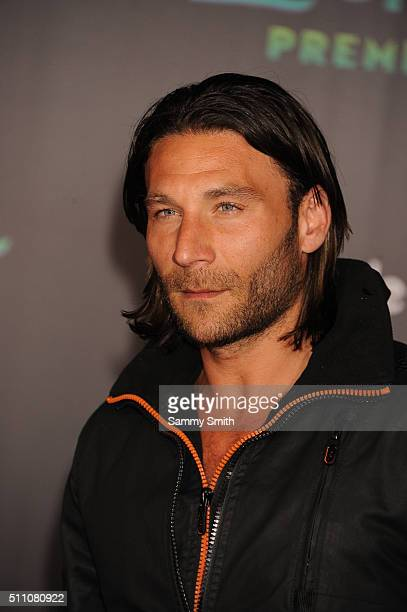 Actor Zach McGowan attends the premiere of Walt Disney Animation Studios' 'Zootopia' at the El Capitan Theatre on February 17 2016 in Hollywood...