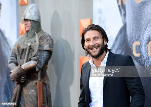 Actor Zach McGowan attends the premiere of Warner Bros Pictures' King Arthur Legend Of The Sword at TCL Chinese Theatre on May 8 2017 in Hollywood...