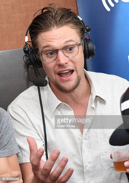 Actor Zach Roerig attends SiriusXM's Entertainment Weekly Radio Channel Broadcasts From ComicCon 2016 at Hard Rock Hotel San Diego on July 22 2016 in...