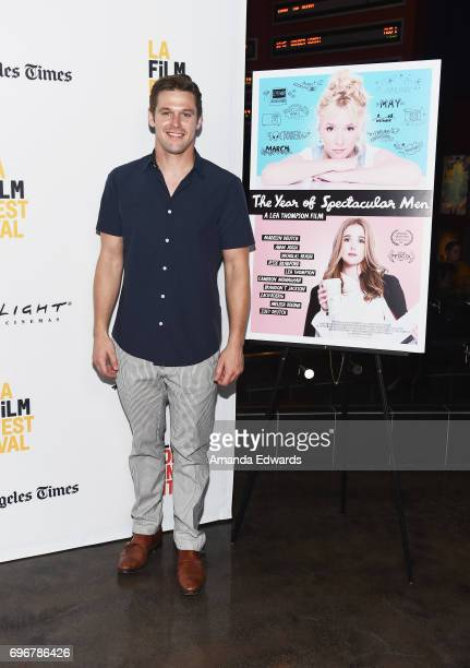 Actor Zach Roerig attends the 2017 Los Angeles Film Festival premiere of 'The Year Of Spectacular Men' at ArcLight Santa Monica on June 16 2017 in...