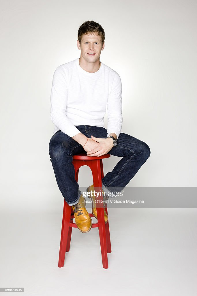 Actor Zach Roerig is photographed for TV Guide Magazine on July 14, 2012 on the TV Guide Magazine Yacht in San Diego, California.