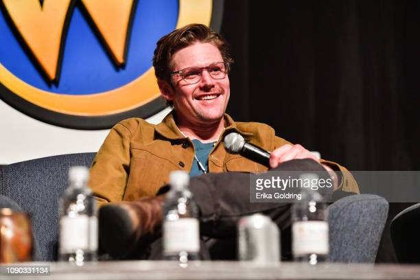Actor Zach Roerig of 'The Vampire Diaries' attends Wizard World Comic Con at Ernest N Morial Convention Center on January 04 2019 in New Orleans...