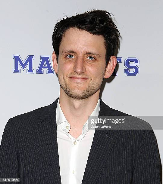 Actor Zach Woods attends a screening of 'Mascots' at Linwood Dunn Theater on October 5 2016 in Los Angeles California