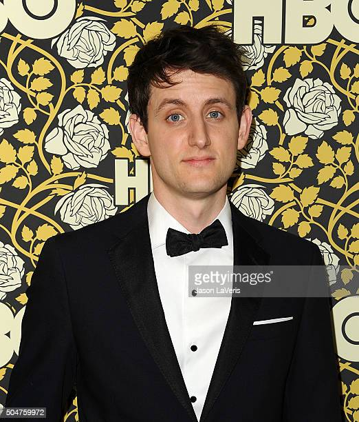 Actor Zach Woods attends HBO's post 2016 Golden Globe Awards party at Circa 55 Restaurant on January 10 2016 in Los Angeles California