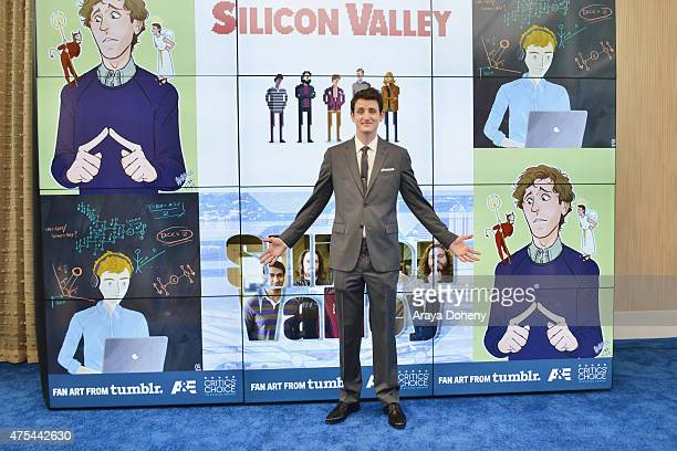 Actor Zach Woods attends the 5th Annual Critics' Choice Television Awards at The Beverly Hilton Hotel on May 31 2015 in Beverly Hills California