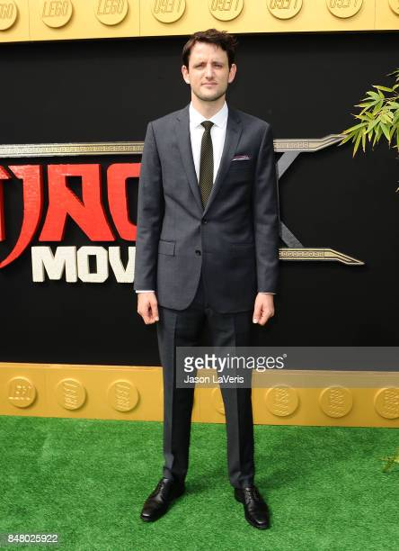 Actor Zach Woods attends the premiere of The LEGO Ninjago Movie at Regency Village Theatre on September 16 2017 in Westwood California