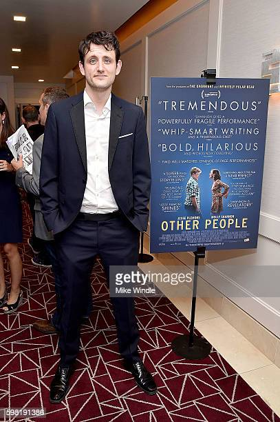 Actor Zach Woods attends the premiere of Vertical Entertainment's Other People at The London West Hollywood on August 31 2016 in West Hollywood...
