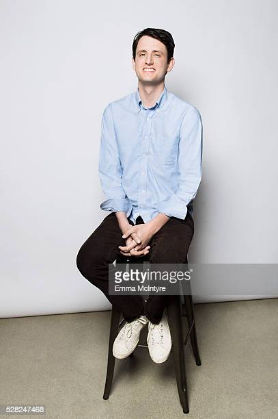 Actor Zach Woods is photographed for The Wrap on April 20 2016 in Los Angeles California