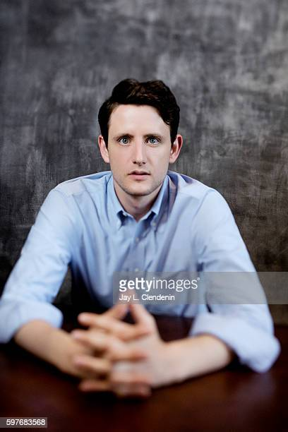Actor Zach Woods of 'Silicon Valley' is photographed for Los Angeles Times at San Diego Comic Con on July 22 2016 in San Diego California