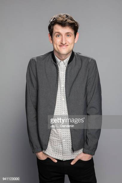 Actor Zach Woods of 'Silicon Valley' is photographed for Los Angeles Times on March 17 2018 at the PaleyFest at the Dolby Theatre in Hollywood...