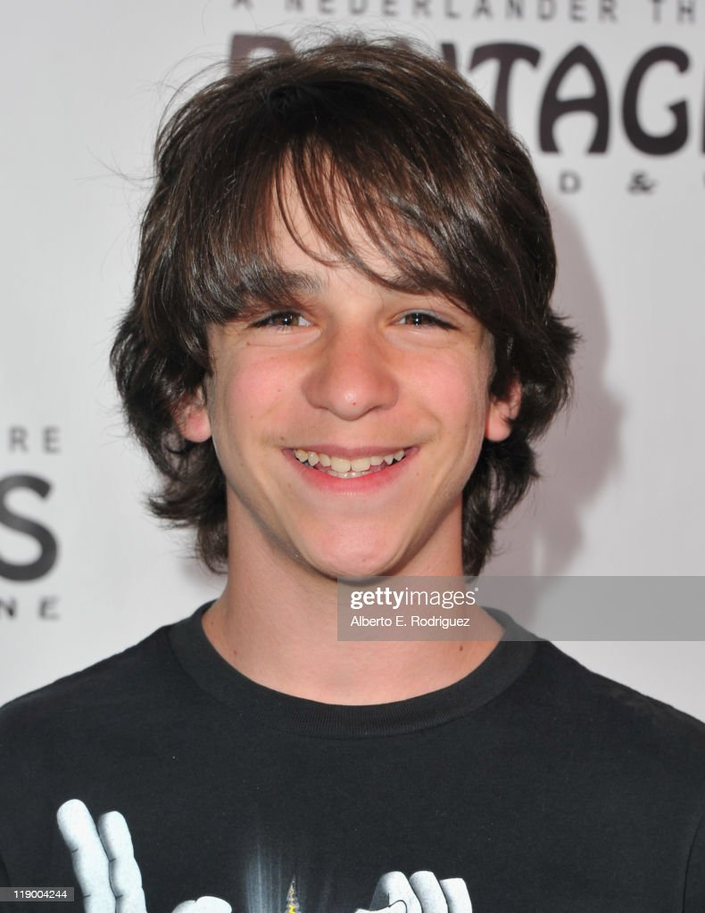Actor Zachary Gordon arrives to the Los Angeles Opening Night of 'Shrek The Musical' at the Pantages Theatre on July 13, 2011 in Hollywood, California.