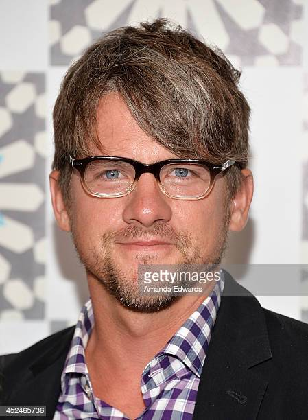 Actor Zachary Knighton arrives at the 2014 Television Critics Association Summer Press Tour FOX AllStar Party at Soho House on July 20 2014 in West...
