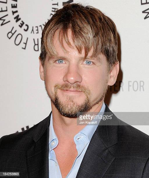 Actor Zachary Knighton arrives at The Paley Center For Media Presents An Evening With Happy Endings And Don't Trust The B In Apartment 23 at The...
