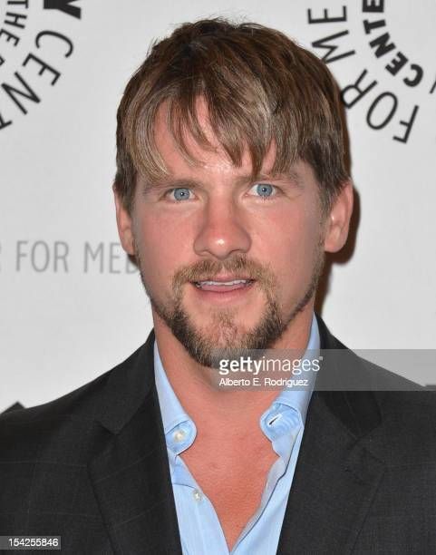 Actor Zachary Knighton arrives to The Paley Center For Media's An Evening With Happy Endings and Don't Trust the B In Apartment 23 at The Paley...