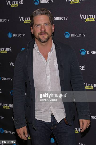 Actor Zachary Knighton attends the 2016 Vulture Festival kick off party held at The Top of The Standard at The Standard High Line on May 20 2016 in...