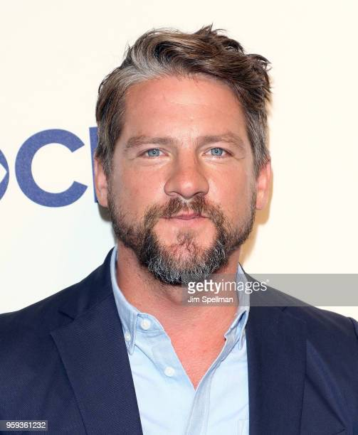 Actor Zachary Knighton attends the 2018 CBS Upfront at The Plaza Hotel on May 16 2018 in New York City