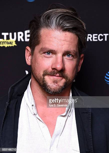 Actor Zachary Knighton attends the Vulture Festival Opening Night Party sponsored by DirecTV at The Top of The Standard on May 20 2016 in New York...
