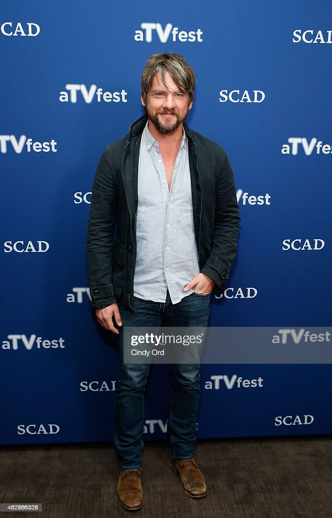 Actor Zachary Knighton attends the 'Weird Loners' press junket during aTVfest presented by SCAD on February 6, 2015 in Atlanta, Georgia.