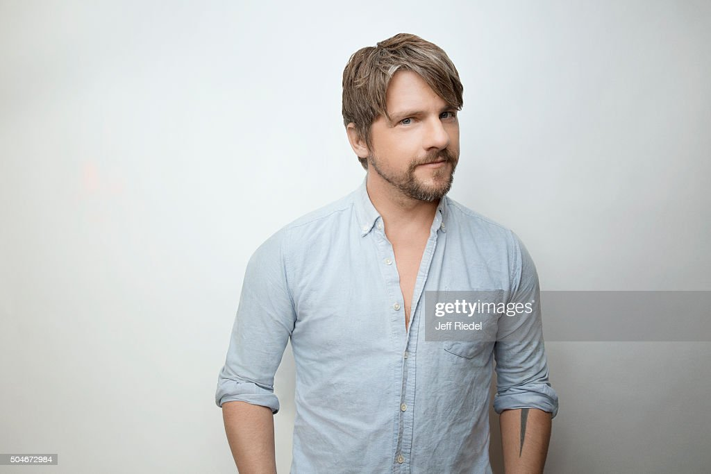 Actor Zachary Knighton is photographed for TV Guide Magazine on January 17, 2015 in Pasadena, California.