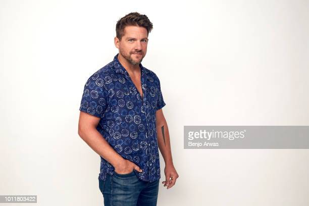 Actor Zachary Knighton of CBS's 'Magnum PI' poses for a portrait during the 2018 Summer Television Critics Association Press Tour at The Beverly...