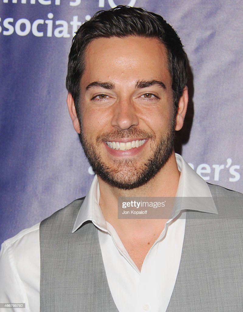 Actor Zachary Levi arrives at the 23rd Annual 'A Night At Sardi's' To Benefit The Alzheimer's Association at The Beverly Hilton Hotel on March 18, 2015 in Beverly Hills, California.