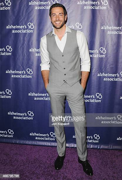 Actor Zachary Levi arrives at the 23rd Annual 'A Night At Sardi's' To Benefit The Alzheimer's Association at The Beverly Hilton Hotel on March 18...