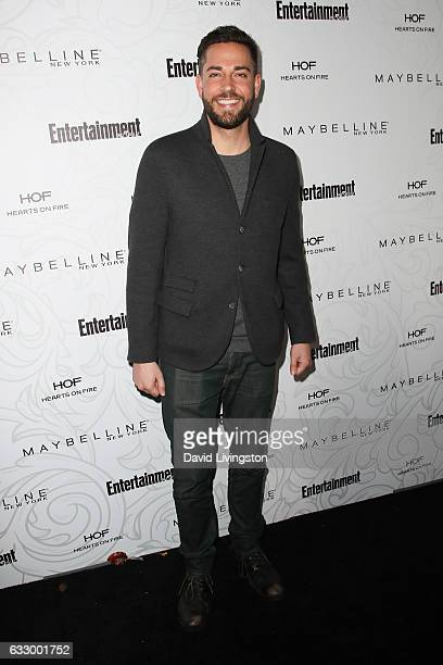 Actor Zachary Levi arrives at the Entertainment Weekly celebration honoring nominees for The Screen Actors Guild Awards at the Chateau Marmont on...