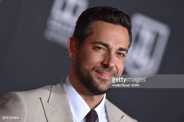 Actor Zachary Levi arrives at the premiere of Warner Bros Pictures' 'Justice League' at Dolby Theatre on November 13 2017 in Hollywood California