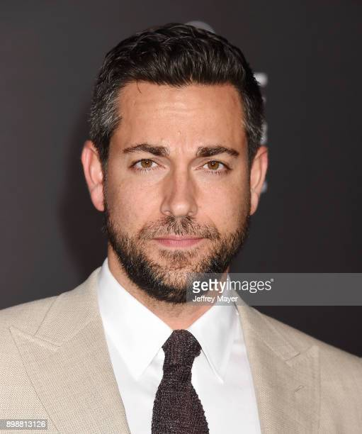 Actor Zachary Levi arrives at the premiere of Warner Bros Pictures' 'Justice League' at the Dolby Theatre on November 13 2017 in Hollywood California