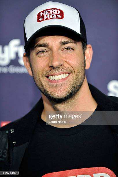 Actor Zachary Levi arrives at the SyFy/E! Comic-Con Party at Hotel Solamar on July 23, 2011 in San Diego, California.