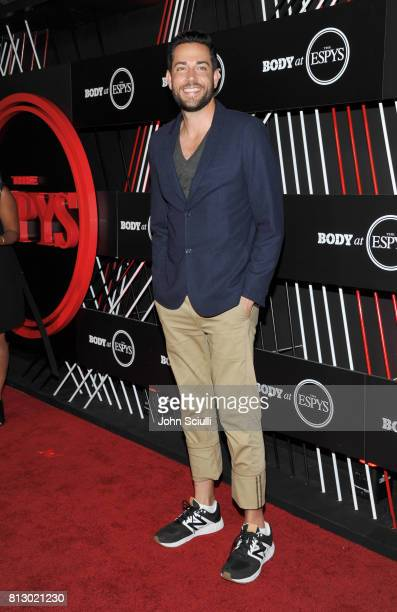 Actor Zachary Levi at BODY at ESPYS at Avalon on July 11 2017 in Hollywood California