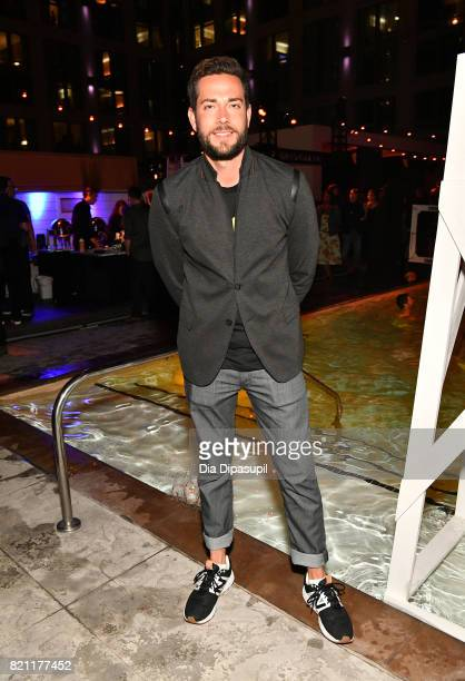Actor Zachary Levi at Entertainment Weekly's annual ComicCon party in celebration of ComicCon 2017 at Float at Hard Rock Hotel San Diego on July 22...