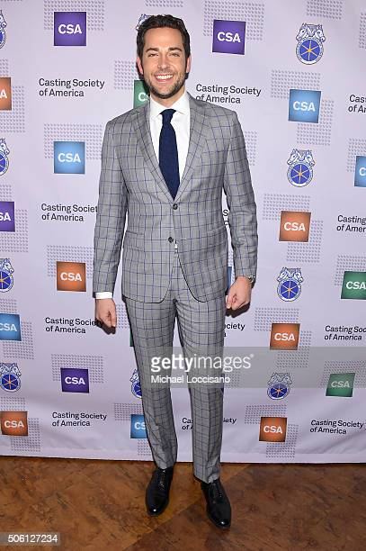 Actor Zachary Levi attends 31st Annual Artios Awards at Hard Rock Cafe Times Square on January 21 2016 in New York City