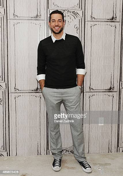 Actor Zachary Levi attends AOL Build to discuss is new show 'Heroes Reborn' at AOL Studios on September 24 2015 in New York City