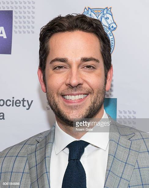 Actor Zachary Levi attends the 31st annual Artios Awards at Hard Rock Cafe Times Square on January 21 2016 in New York City
