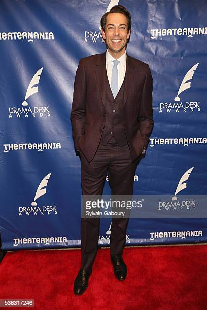 Actor Zachary Levi attends The 61st Annual Drama Desk Awards Arrivals at Anita's Way on June 5 2016 in New York City