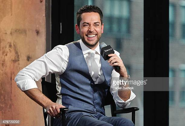 Actor Zachary Levi attends the AOL Build Presents The Nerd Machine at AOL Studios In New York on July 6 2015 in New York City