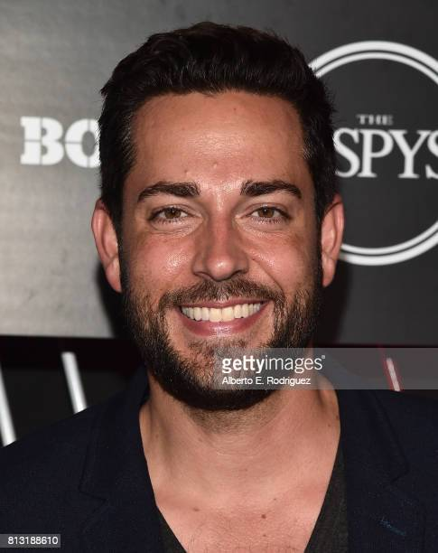 Actor Zachary Levi attends the BODY at The EPYS PreParty at Avalon Hollywood on July 11 2017 in Los Angeles California
