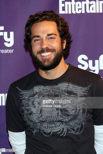 Actor Zachary Levi attends the Entertainment Weekly and Syfy party celebrating Comic-Con at Hotel Solamar on July 25, 2009 in San Diego, California.
