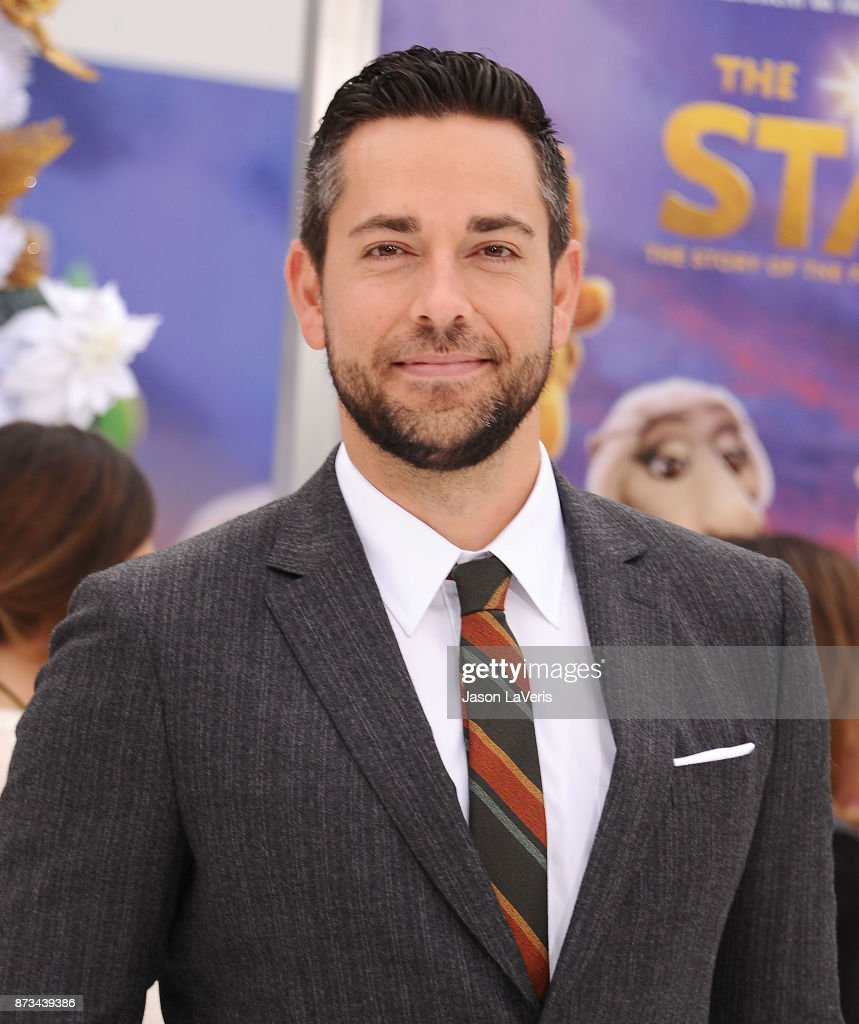Actor Zachary Levi attends the premiere of 'The Star' at Regency Village Theatre on November 12, 2017 in Westwood, California.
