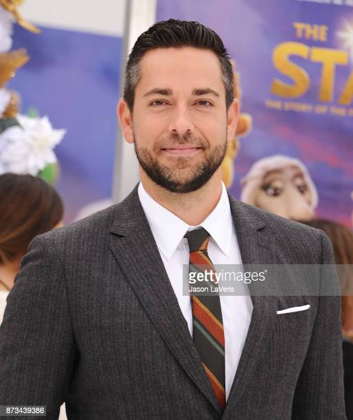 Actor Zachary Levi attends the premiere of 'The Star' at Regency Village Theatre on November 12 2017 in Westwood California