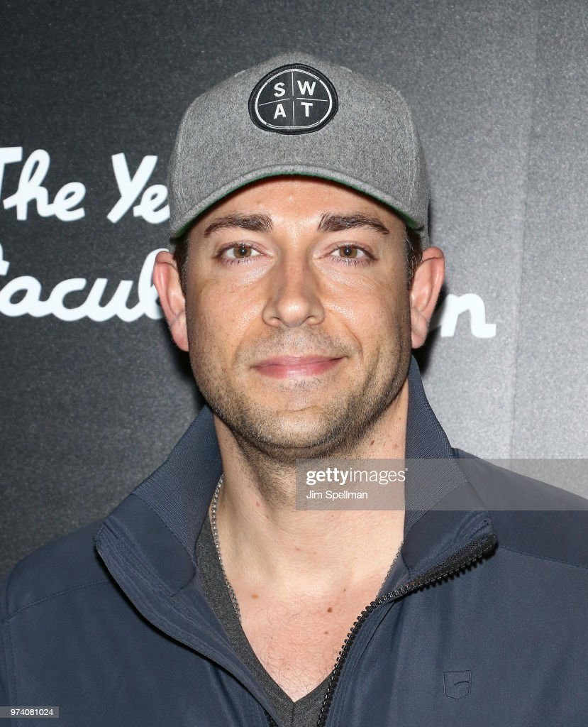 Actor Zachary Levi attends the screening of 'The Year Of Spectacular Men' hosted by MarVista Entertainment and Parkside Pictures with The Cinema Society at The Landmark at 57 West on June 13, 2018 in New York City.