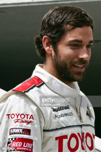 Actor Zachary Levi attends the Toyota Grand Prix Pro / Celebrity Race Day on April 17 2010 in Long Beach California