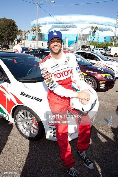 Actor Zachary Levi attends the Toyota Pro Celebrity Race press day on April 6 2010 in Long Beach California