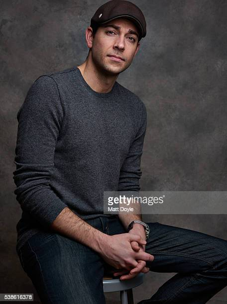 Actor Zachary Levi is photographed for SAG Foundation on April 28 2016 in New York City