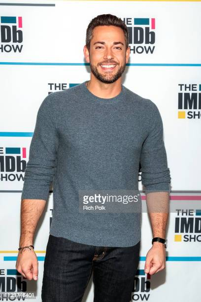 Actor Zachary Levi visits 'The IMDb Show' on March 22 2019 in Studio City California This episode of 'The IMDb Show' airs on April 4 2019