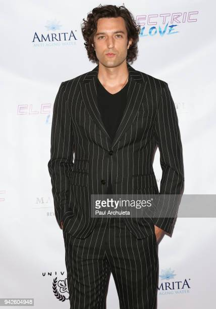 Actor Zachary Mooren attends the premiere of 'Electric Love' at Laemmle's Ahrya Fine Arts Theatre on April 5 2018 in Beverly Hills California