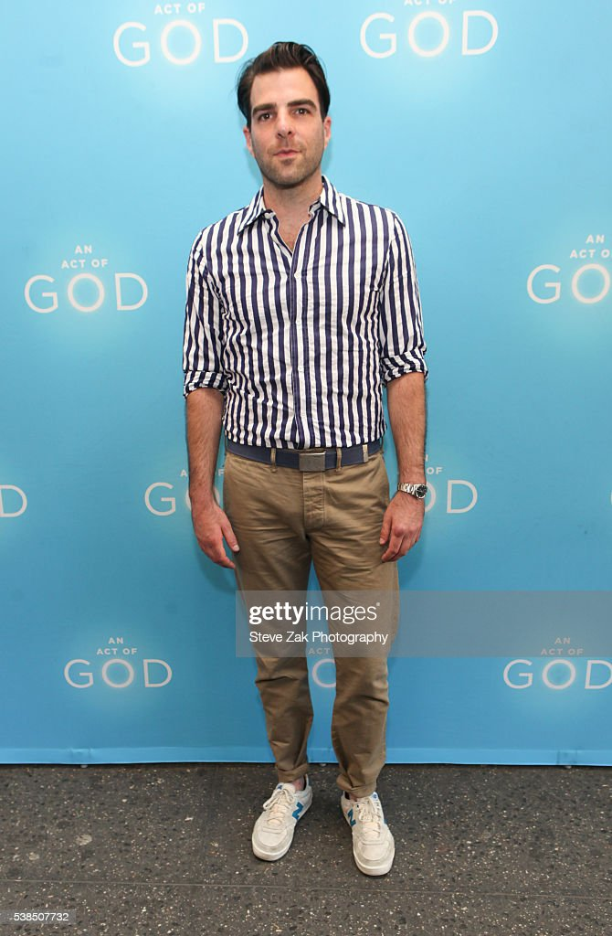 """""""An Act Of God"""" Opening Night : News Photo"""