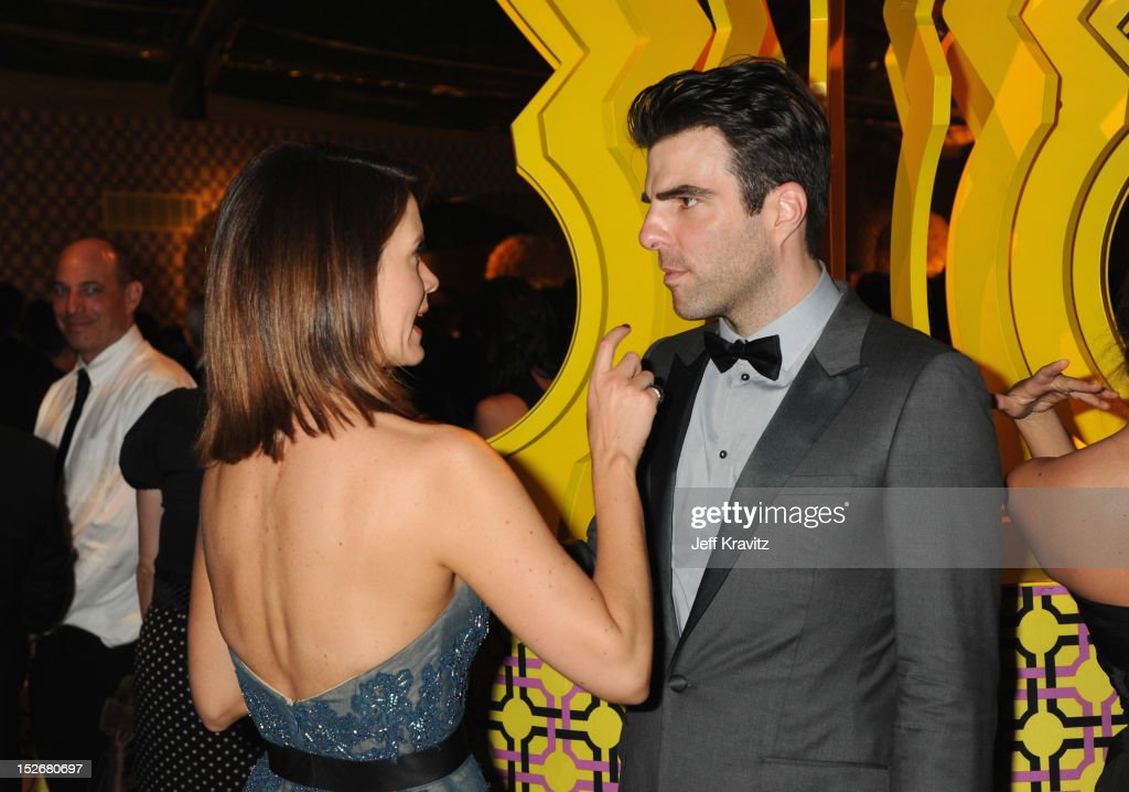 Actor Zachary Quinto attends HBO's Official Emmy After Party at The Plaza at the Pacific Design Center on September 23, 2012 in Los Angeles, California.