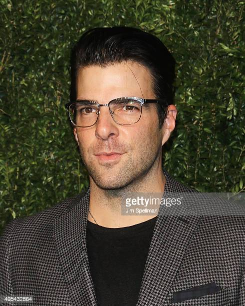 Actor Zachary Quinto attends the 12th annual CFDA/Vogue Fashion Fund Awards at Spring Studios on November 2 2015 in New York City